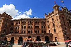 Plaza de Toros Monumental, το παλαιό κτήριο, Μαδρίτη, Ισπανία Στοκ εικόνα με δικαίωμα ελεύθερης χρήσης