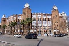 Plaza de Toros Monumental Στοκ Φωτογραφίες