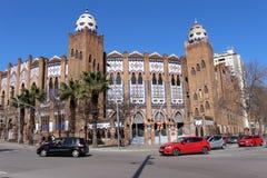 Plaza de Toros Monumental Στοκ Φωτογραφία