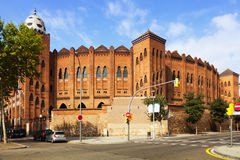 Plaza de toros Monumental in Barcelona Royalty Free Stock Photography