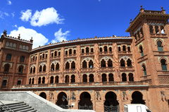 Plaza de Toros Monumental, the old building, Madrid, Spain Royalty Free Stock Photo