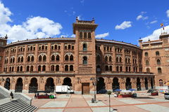 Plaza de Toros Monumental, the old building, Madrid, Spain Royalty Free Stock Images