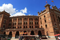 Plaza de Toros Monumental, the old building, Madrid, Spain Royalty Free Stock Image