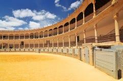Plaza de Toros Praça de touros em Ronda, Espanha Andalucia imagem de stock royalty free