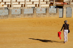 In the plaza de Toros Royalty Free Stock Images