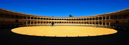 Plaza de Toros, Ronda, Spain stock images
