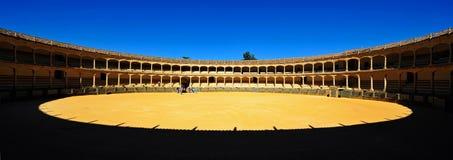 Plaza de Toros, Ronda, Spanien Arkivbilder