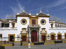 Plaza de Toros - Séville - l'Espagne image stock