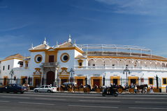 Plaza de Toros, Sevilla, Spain Stock Image