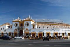 Plaza de Toros, Sevilla, Spanien Stockbild