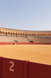 Plaza de Toros in Seville Royalty Free Stock Photo