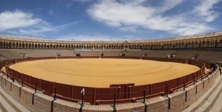 Plaza de Toros. Of Seville Stock Image