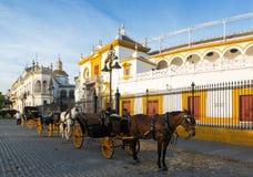 Plaza de Toros.  Seville Stock Photo