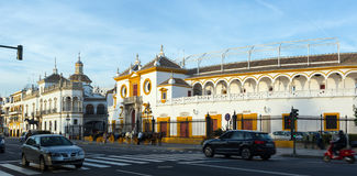 Plaza de Toros. Seville Stock Image