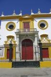 Plaza de Torros, entrata, Siviglia Immagine Stock
