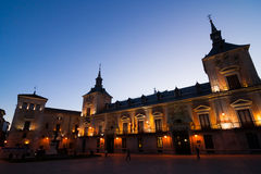 Plaza de villa Στοκ εικόνες με δικαίωμα ελεύθερης χρήσης