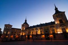 Plaza de villa Royaltyfria Bilder