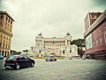 Plaza de Vittorio Manuel II Fotos de archivo libres de regalías