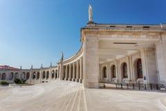 Plaza dei dettagli per le preghiere in Fatima santa immagine stock