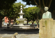 Plaza del adelantado Royalty Free Stock Images