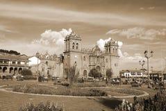 Plaza del armas. Cuzco Peru Royalty Free Stock Image