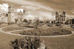 Plaza del armas. Cuzco Peru Stock Photography