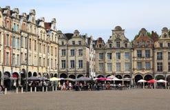 Plaza del Arras en Francia Imagenes de archivo