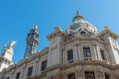 Plaza del Ayuntamiento, Βαλένθια, Spanien Στοκ φωτογραφίες με δικαίωμα ελεύθερης χρήσης