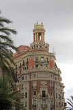 Plaza del Ayuntamiento - κύριο τετράγωνο της Βαλένθια, Ισπανία Στοκ εικόνες με δικαίωμα ελεύθερης χρήσης