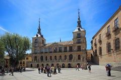 Plaza del Ayuntamiento, Τολέδο, Ισπανία Στοκ Εικόνες