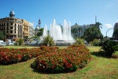Plaza del Ayuntamiento Royalty Free Stock Image