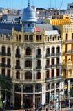 Plaza del Ayuntamiento, Valencia Royalty Free Stock Image