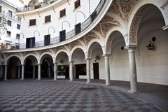 Plaza del Cabildo, Seville Stock Photography