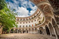 Plaza del Cabildo, Seville, Spain Royalty Free Stock Image