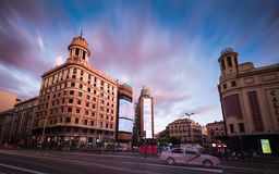 Plaza del Callao Μαδρίτη Στοκ εικόνες με δικαίωμα ελεύθερης χρήσης