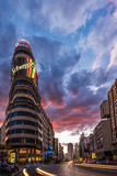 Plaza del Callao Madrid Royalty Free Stock Images