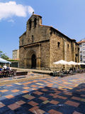 Plaza del Carbayo, Aviles Royalty Free Stock Image