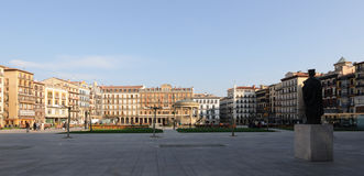 Plaza del  Castillo Royalty Free Stock Photos