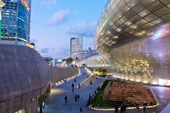 Plaza del diseño de Dongdaemun Imagen de archivo libre de regalías