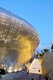 Plaza del diseño de Dongdaemun Imagen de archivo