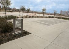 Plaza del EMF, jefaturas nacionales de ACEP, Dallas, Tejas fotos de archivo