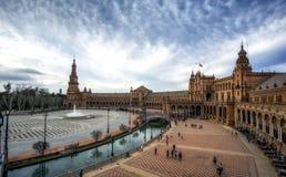 Plaza del español de Sevilla Fotografía de archivo