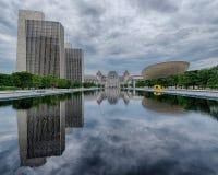 Plaza del estado del imperio en Albany Imágenes de archivo libres de regalías