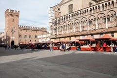 Plaza del mercado Imagen de archivo libre de regalías