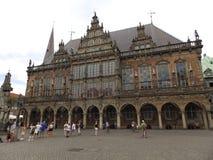 Plaza del mercado con los edificios históricos viejos en Alemania 2 Imagen de archivo