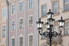 Plaza del mercado de Lvov Foto de archivo libre de regalías