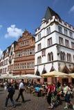 Plaza del mercado del Trier alemania Foto de archivo libre de regalías