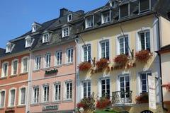 Plaza del mercado del Trier alemania Imagen de archivo