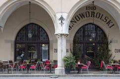 Plaza del mercado, Kraków, Polonia Foto de archivo libre de regalías