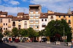 Plaza del Mercado in Logrono. La Rioja Royalty Free Stock Photos